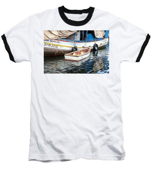 Baseball T-Shirt featuring the photograph Floating Market by Allen Carroll