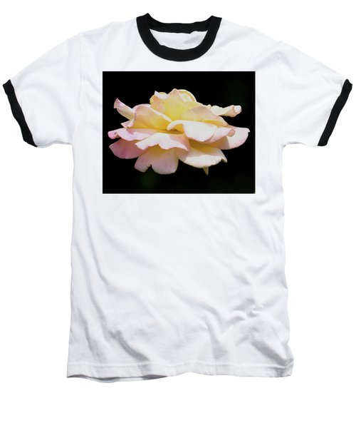 Floating Rose 3894 Baseball T-Shirt