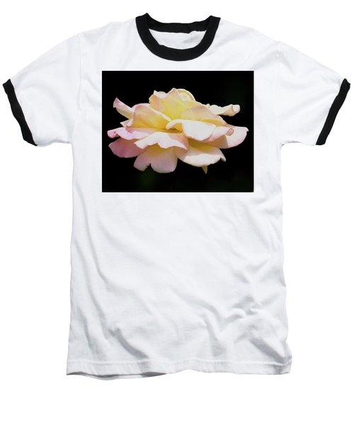 Floating Rose 3894 Baseball T-Shirt