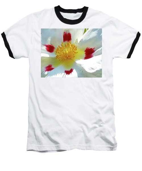 Floral Impressions Baseball T-Shirt