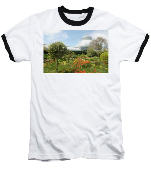Baseball T-Shirt featuring the photograph Floral Notes by Diana Angstadt