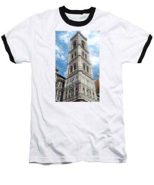 Florence Duomo Tower Baseball T-Shirt