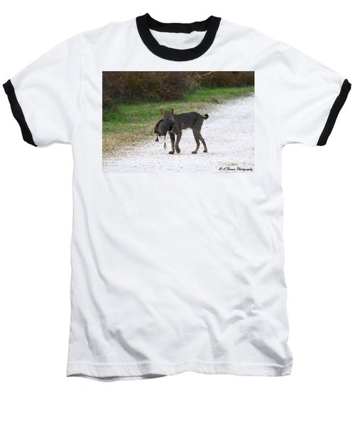 Florida Bobcat Catches An Evening Snack Baseball T-Shirt