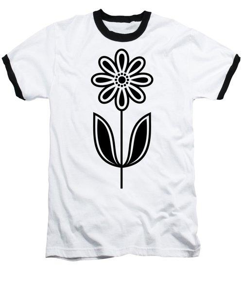 Flower 1 Transparent Baseball T-Shirt