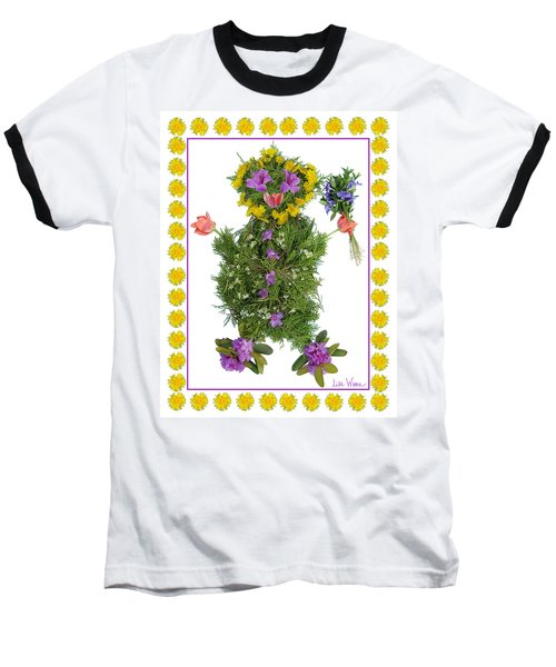 Flower Baby Baseball T-Shirt