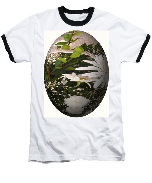 Flower Egg Baseball T-Shirt