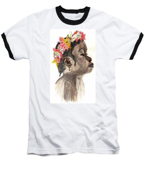 Flower Girl Baseball T-Shirt