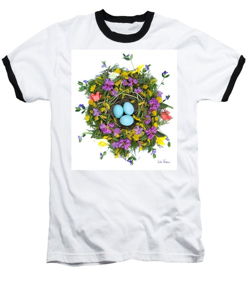 Flower Nest Baseball T-Shirt