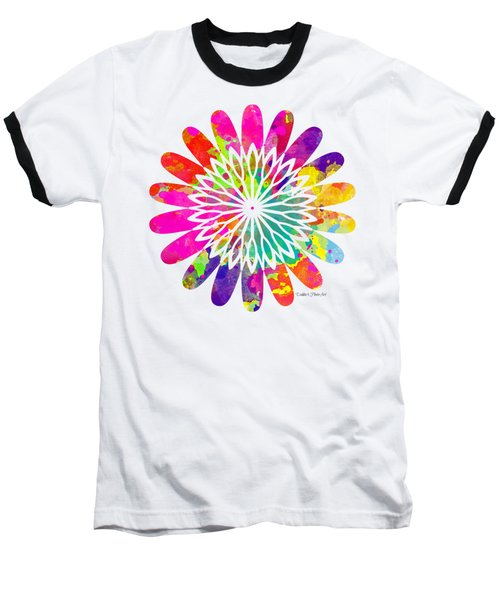 Flower Power 3 - Tee Shirt Design Baseball T-Shirt