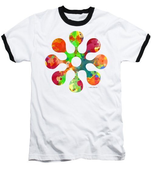 Flower Power 4 - Tee Shirt Design Baseball T-Shirt
