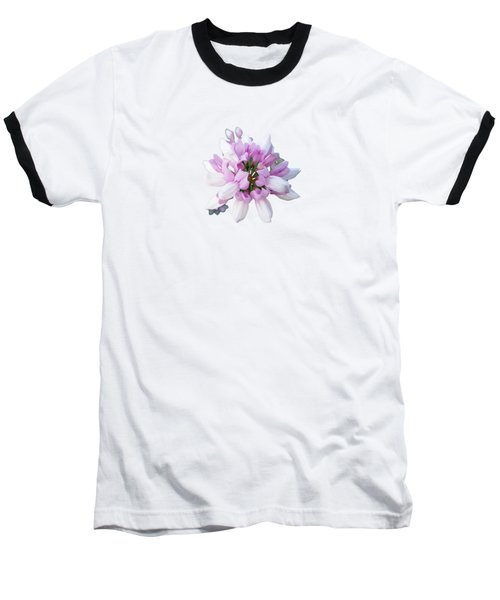 Flower Securigera Varia 2 Baseball T-Shirt by Mike Breau
