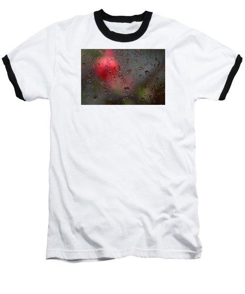 Flower Seen Through The Window Baseball T-Shirt