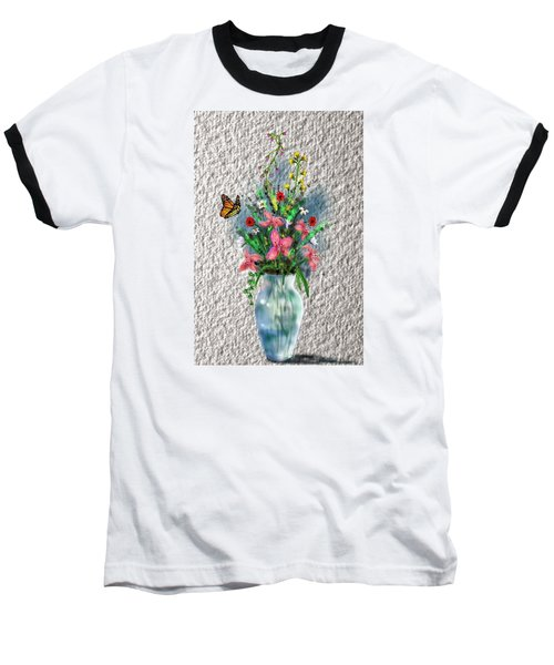 Flower Study Three Baseball T-Shirt by Darren Cannell