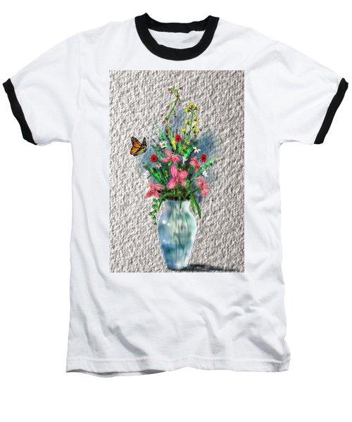 Flower Study Three Baseball T-Shirt