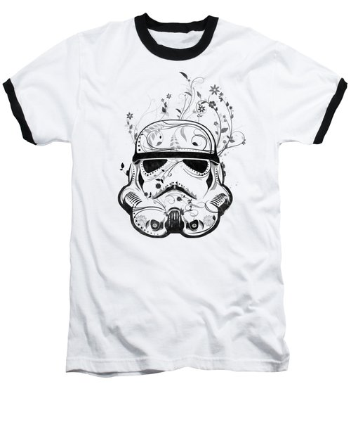 Baseball T-Shirt featuring the digital art Flower Trooper by Nicklas Gustafsson