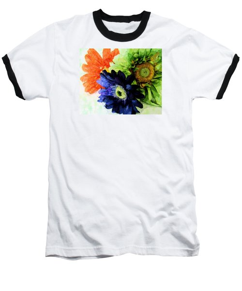 Flower X Three Baseball T-Shirt