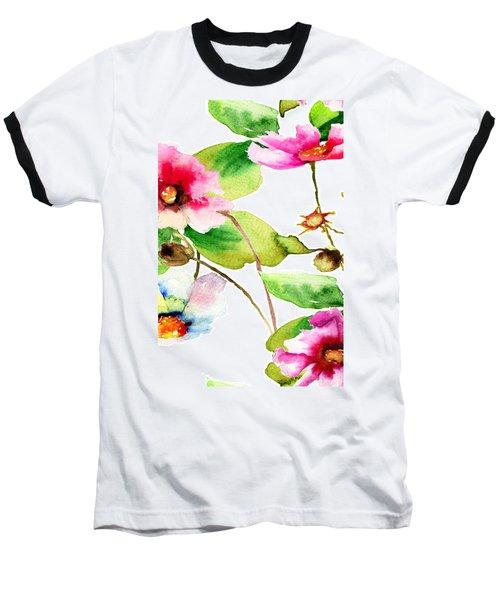 Flowers 03 Baseball T-Shirt