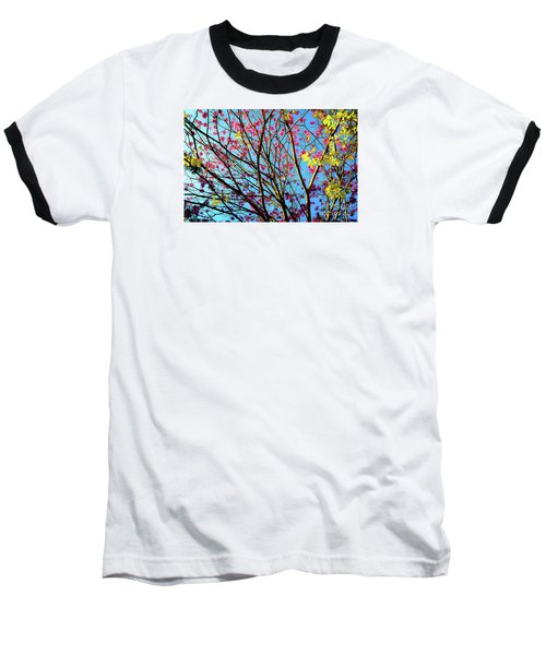 Flowers And Trees Baseball T-Shirt