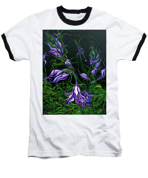Flowers From The Failed Fiction Baseball T-Shirt