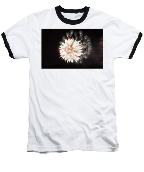 Flowers In The Sky Baseball T-Shirt