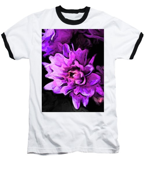 Flowers Of Lavender And Pink 1 Baseball T-Shirt