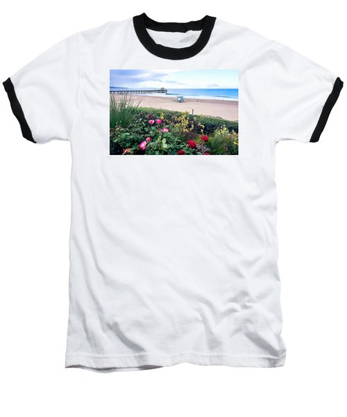 Flowers Of Manhattan Beach Baseball T-Shirt
