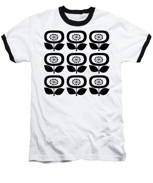 Flower 2 Group Transparent Baseball T-Shirt
