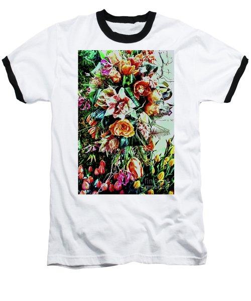 Flowing Bouquet Baseball T-Shirt