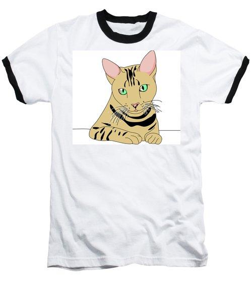 Fluffy Baseball T-Shirt