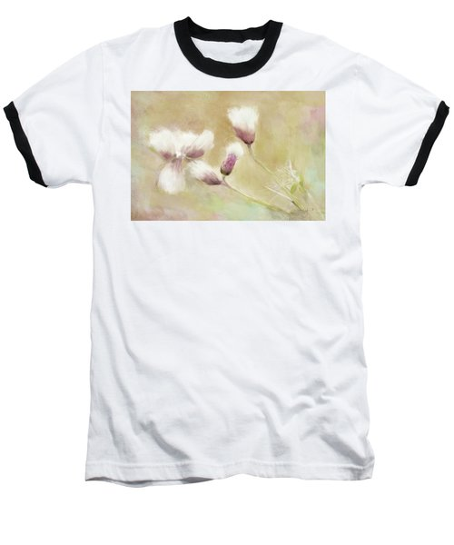 Fluffy Thistle Baseball T-Shirt