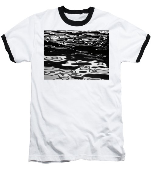 Fluid Abstract Baseball T-Shirt
