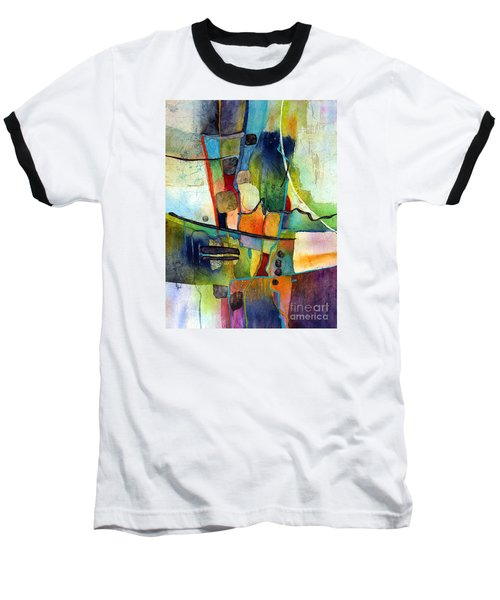 Fluvial  Mosaic Baseball T-Shirt