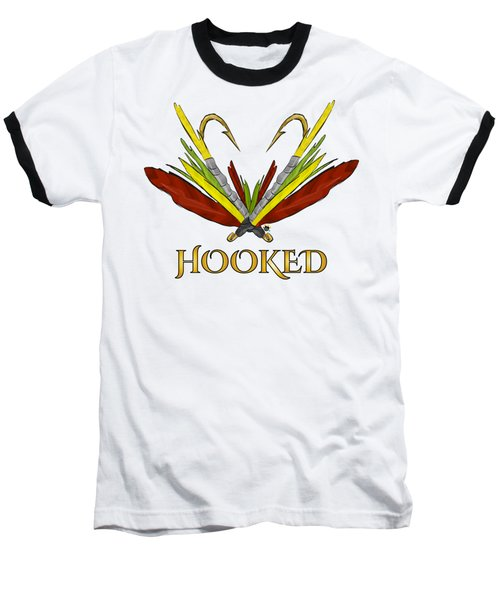 Fly Fishing Baseball T-Shirt