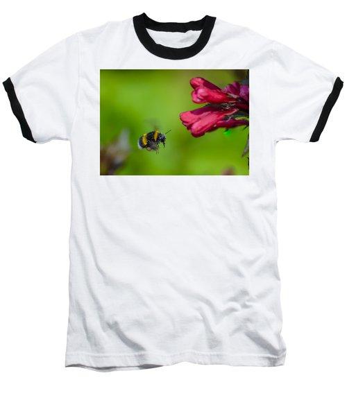 Flying Bumblebee Baseball T-Shirt