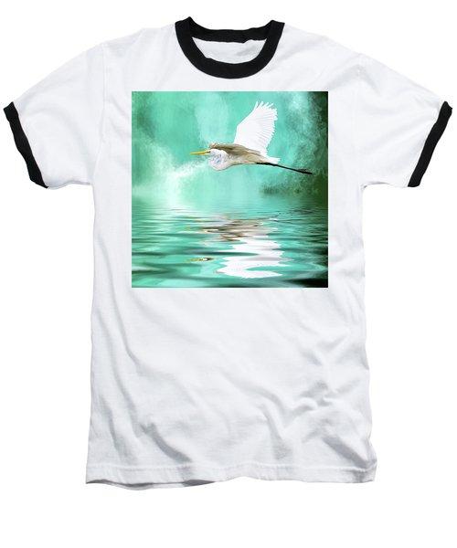 Flying High Baseball T-Shirt by Cyndy Doty