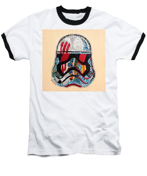 Storm Trooper Fn-2187 Helmet Star Wars Awakens Afrofuturist Collection Baseball T-Shirt