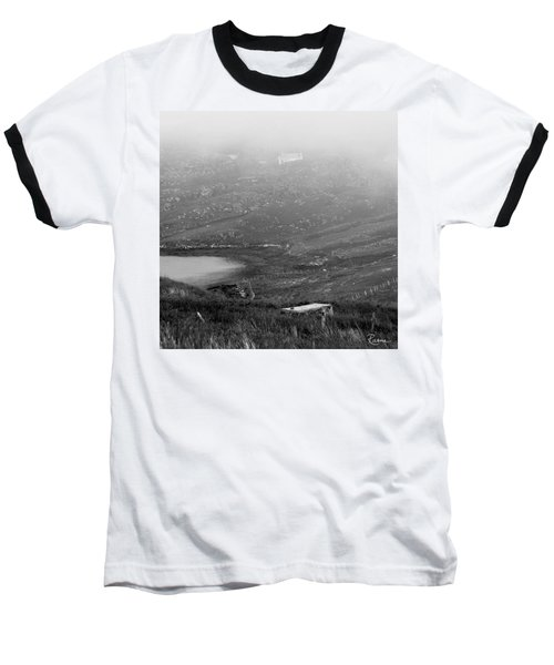 Foggy Scottish Morning Baseball T-Shirt