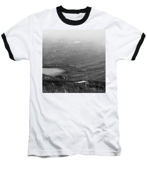 Foggy Scottish Morning Baseball T-Shirt