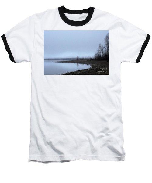 Foggy Water Baseball T-Shirt