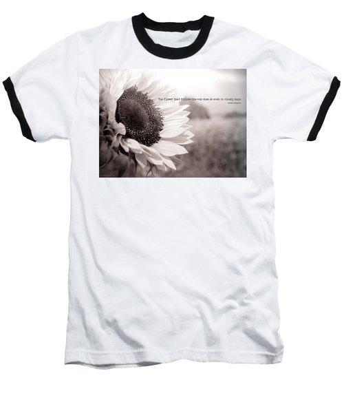 Follow The Sun Baseball T-Shirt