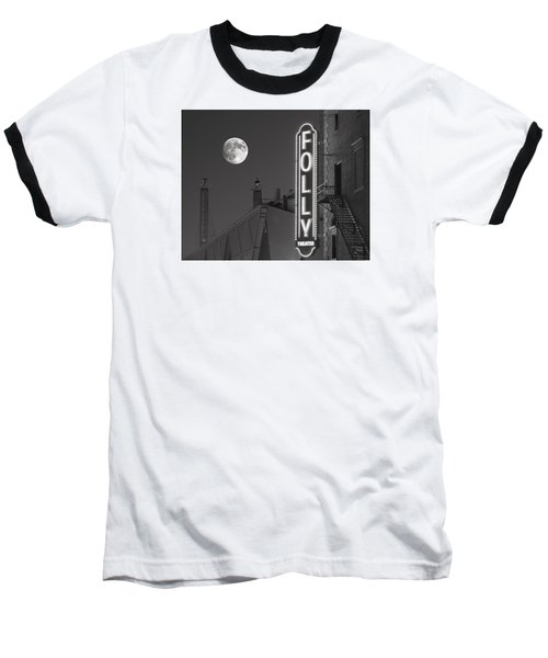 Folly Theatre Kansas City Baseball T-Shirt by Don Spenner