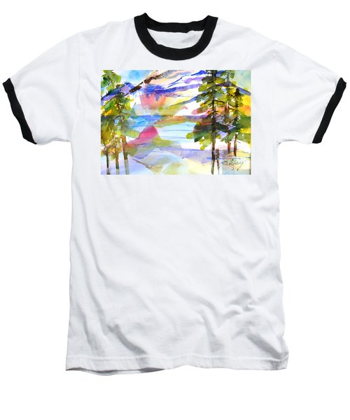 For Love Of Winter #1 Baseball T-Shirt by Betty M M Wong