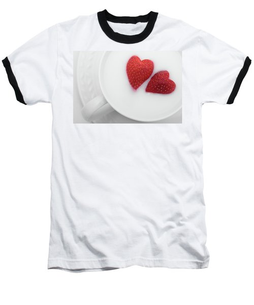 Baseball T-Shirt featuring the photograph For Valentine's Day by William Lee