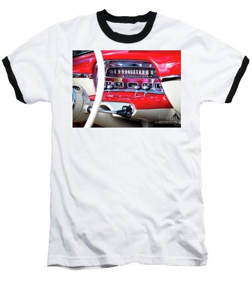 Baseball T-Shirt featuring the photograph Ford Dash by Chris Dutton