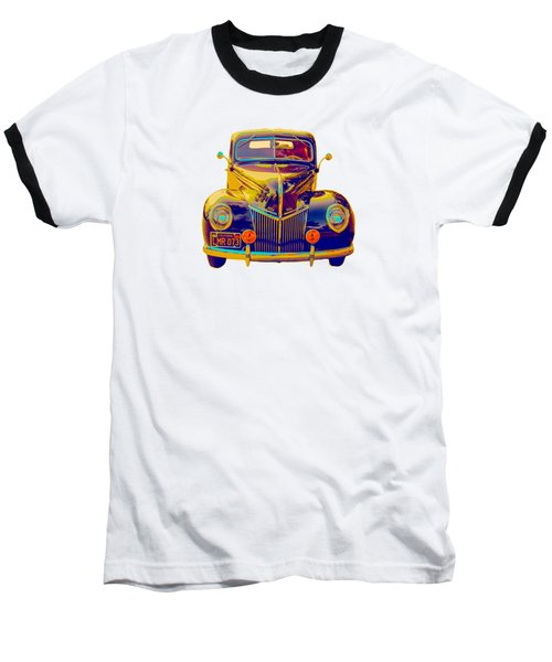 Ford Deluxe Coupe Transfer Baseball T-Shirt by Mim White
