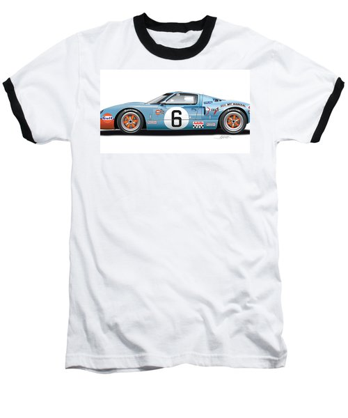 Ford Gt 40 1969 Baseball T-Shirt