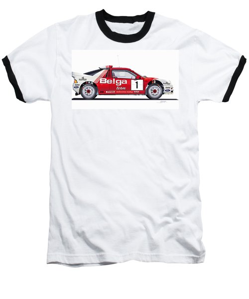 Ford Rs 200 Belga Team Illustration Baseball T-Shirt