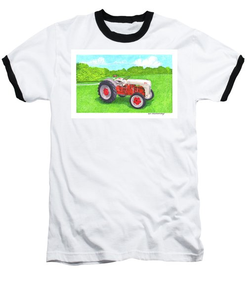 Ford Tractor 1941 Baseball T-Shirt by Jack Pumphrey