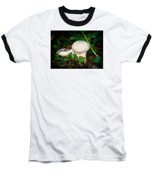 Forest Floor Mushroom Baseball T-Shirt