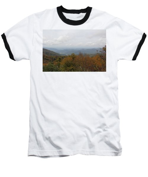 Forest Landscape View Baseball T-Shirt